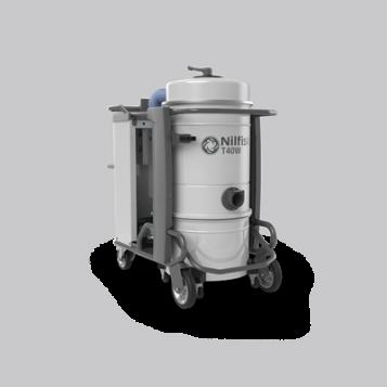 שואב אבק תעשייתי 3 פאזות מדגם T40W
