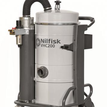שואב אבק תעשייתי המופעל בשיטת לחץ אויר דגם VHC200